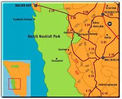 africa map kalahari desert namib information and photographs