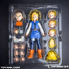 z android 18 bandai tamashii nations s h figuarts android 18 z
