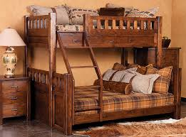 Montana Extra Long Twin Over Queen Bunk Bed - Queen sized bunk beds