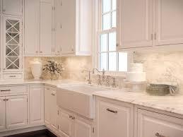 white kitchen with backsplash useful white kitchen backsplash ideas simple home remodeling ideas