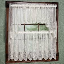 White Lace Window Valances Curtains Vivacious Beautiful Ivory White Lace Curtains Walmart