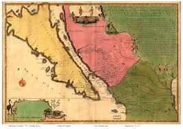 Old Map Of Mexico by Old Maps Of California State Maps