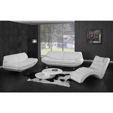 White Leather Sofa Beds Modern Furniture Miami Distribution Center La Furniture