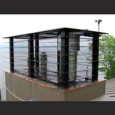 Decorative Metal Chimney Caps Custom Aluminum Louvered Chimney Cap Fireplace Pinterest