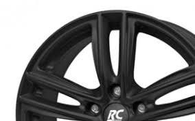 rc design rc27 rc design rc27 matt black 6 15 5 112 et43 b57 1 felg skruvat