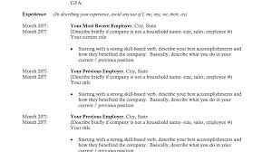 Resume Templates For Recent College Graduates 62 Resume Examples For Recent College Graduates Virtual