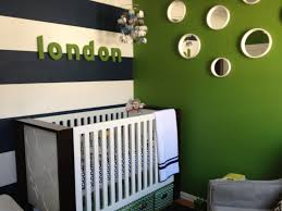 Yellow Green White Bedroom Modern Elephants Nursery Green Stripes And Bald Hairstyles