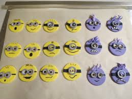 Minion Cake Decorations How To Make Despicable Me Cupcake Toppers