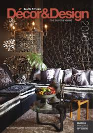 Wholesale Furniture Suppliers South Africa Sa Decor And Design The Buyers Guide 2016 Edition By Sa Decor