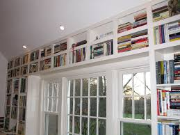 Custom Bookcase Weston Ma Finish Carpentry Renovations Home Improvement And