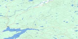 Big Bend Map Big Bend Creek Bc Free Topo Map Online 093f10 At 1 50 000