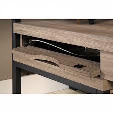 multi tiered l shaped desk sauder transit collection multi tiered l shaped desk
