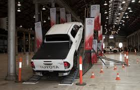 playtime in the toyota hilux tonka concept and 2017 toyota hilux