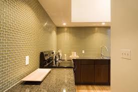 Mini Subway Tile Kitchen Backsplash by Khaki 1x2 Mini Glass Subway Tile Kitchen Backsplash Glass