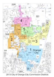 Orange County Florida Map by City Council U2013 City Of Orange City