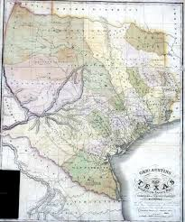 Mexico Map 1821 by General Austin U0027s Map Of Texas With Parts Of Adjoining States