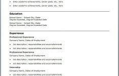 Free Resume Templates For Word by Free Resume Template For Word Brunolab Net