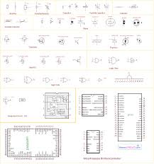 electronic components and circuit diagram symbols wiring diagram