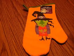 halloween kitchen oven mitt with witch new 311444095926 2 99