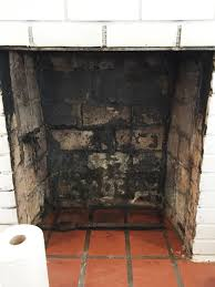 How To Clean Fireplace Bricks With Vinegar by How To Clean A Fireplace Firebox Friday Five The Diy Bungalow