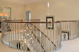 Metal Stair Rails And Banisters Stainless Steel Spindles Quality Mirror Polished Stainless Steel
