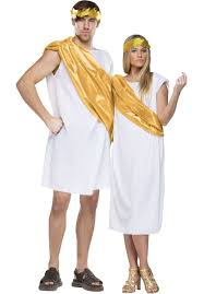 roman or greek toga fancy dress costume escapade uk