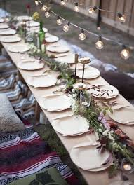 outdoor table decor with style