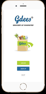 online grocery in delhi gdees mobile application