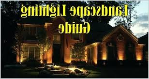 Landscape Lighting Installation Guide Low Voltage Landscape Lighting Installation Guide Low Voltage