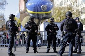 thanksgiving day parade security tight in terror wary new york