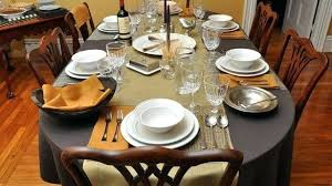 rustic table setting ideas table setting design download dinner table setting home design