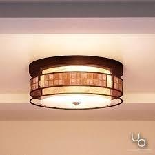 copper flush mount light light art deco flush ceiling light
