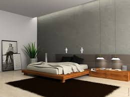 decoration minimalist bedroom design interior of modern bedroom 3d rendering modern