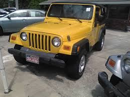 jeep rubicon yellow yellow jeep wrangler in florida for sale used cars on buysellsearch