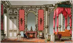 french rococo bedroom louis xv interieur 18th century fashion