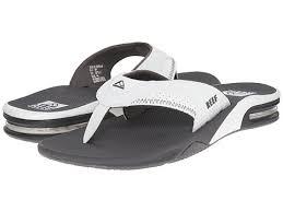 mens reef fanning flip flops sale reef fanning sandals mens grey white uk105493 shoes 036796fu brand