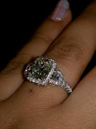 rectangle cushion cut engagement rings post pictures of rectangular radiant cushion cut w halo
