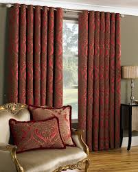 curtains for livingroom elegant eyelet burgundy curtain for living room ideas with