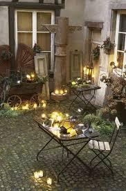 bougies exterieur lanternes jardin design de maison