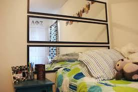 mirror wall cabinets bathroom image of headboard mirror diy