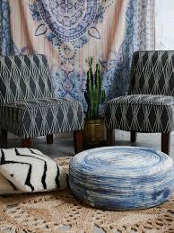 diy indigo ottoman for indoors or outdoors hgtv u0027s