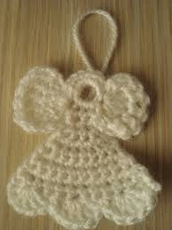 handmade by camelia pattern three ornaments crocheted for