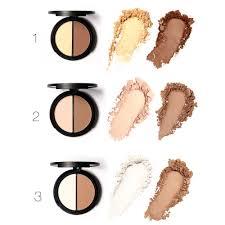 Color Concealer 2 Different Color Concealer Makeup Bronzer Highlighter Blemish