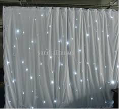 curtain with lights decorate the house with beautiful curtains
