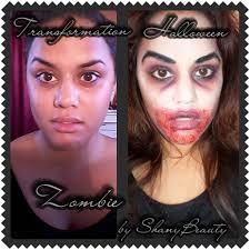 makeup halloween walking dead maquillage halloween zombie sans