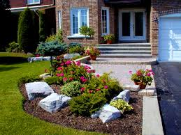 Front Yard Landscaping Ideas No Grass - bedroom cute landscaping ideas for front yard design decors