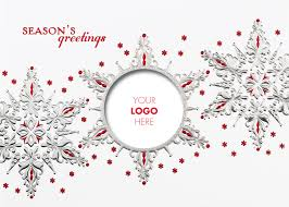 snowflake logo christmas cards holiday card website
