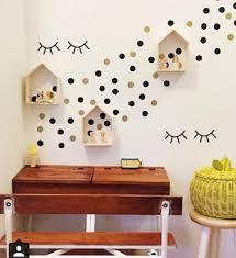 stickers d oration chambre b mignon cils motif enfant de chambre fond décorer sticker autocollant