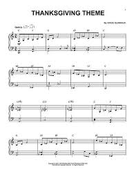 21 best thanksgiving piano sheet images on piano