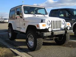 modified white jeep wrangler beautiful white modified jeep tj 2 1 madwhips